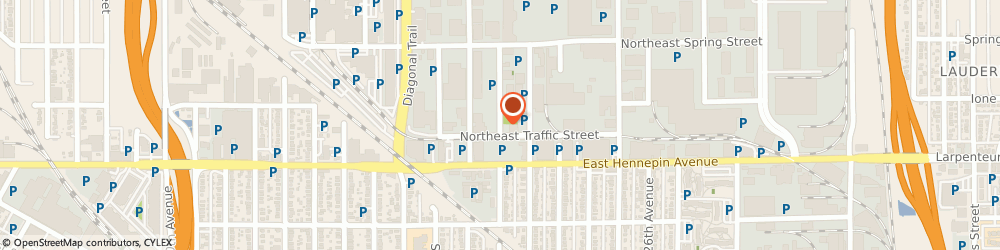 Route/map/directions to Sterling Engine Parts, 55413 Minneapolis, 361 WILSON ST NE