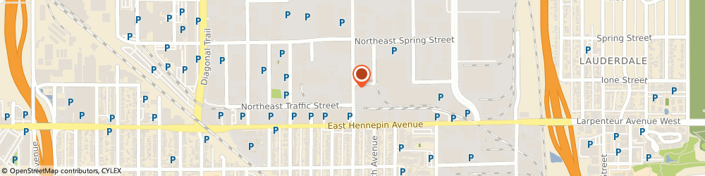 Route/map/directions to Harmony Engineering Corporation, 55413 Minneapolis, 460 HOOVER STREET NORTHEAST