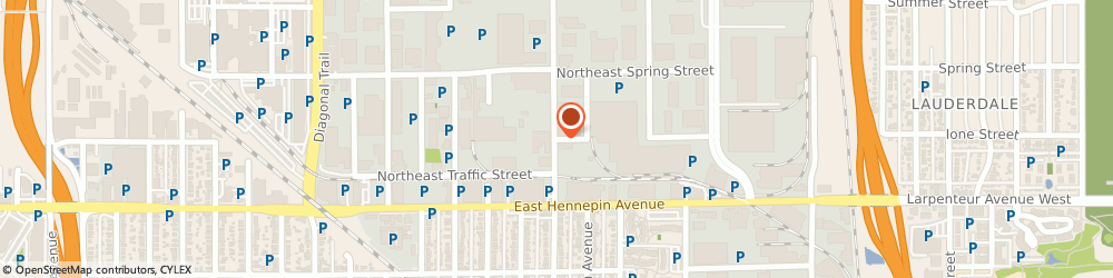 Route/map/directions to d & d Speedometer, 55413 Minneapolis, 2525 WINTER STREET NORTHEAST
