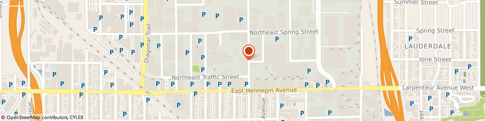Route/map/directions to Accessability, Inc., 55413 Minneapolis, 360 Hoover Street Ne