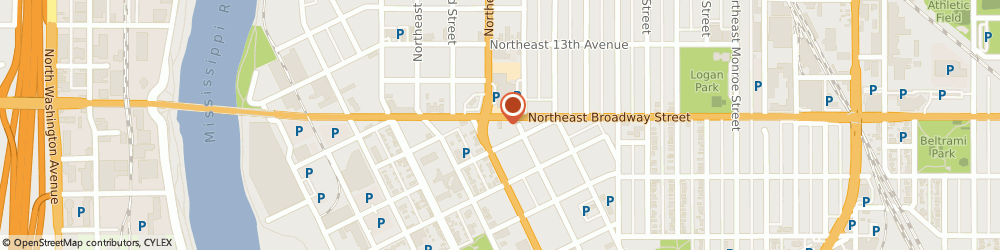 Route/map/directions to Wells Fargo ATM, 55413 Minneapolis, 300 Broadway St NE