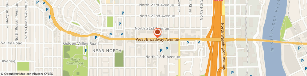 Route/map/directions to Little Caesars Pizza, 55411 Minneapolis, 902 West Broadway Ave