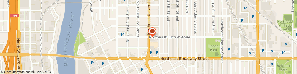 Route/map/directions to Starbucks Coffee Supertarget - St. Paul t-2229, 55401 Minneapolis, 1300 University Ave