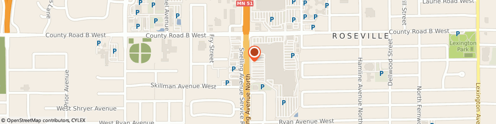 Route/map/directions to Radio Shack, 55113 Saint Paul, 2100 SNELLING AVE N
