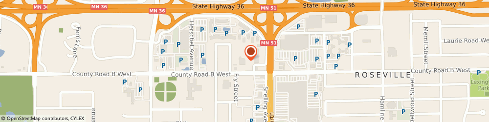 Route/map/directions to Miracle-Ear Center, 55101 Saint Paul, 1611 COUNTY ROAD B W STE 204