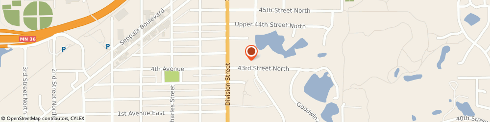 Route/map/directions to Carol Matheys Memorial Childrens Center, 55128 Saint Paul, 6060 43RD STREET NORTH
