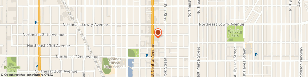 Route/map/directions to Wells Fargo Bank, 55418 Minneapolis, 2329 Central Ave NE