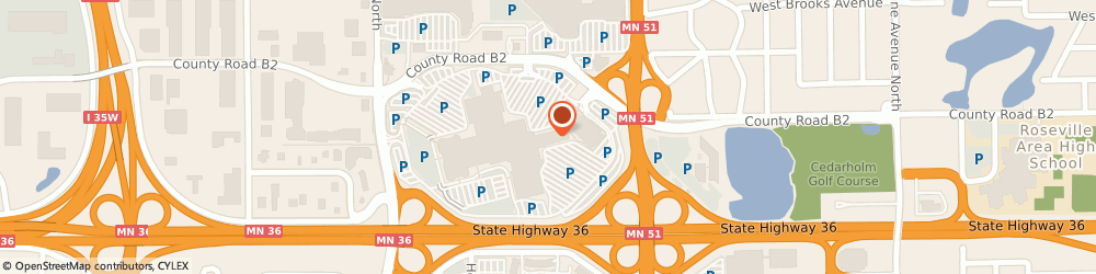Route/map/directions to LOFT, 55113 Roseville, 808 Rosedale Center