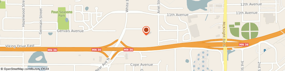 Route/map/directions to The Home Depot, 55109 Maplewood, 2360 White Bear Ave No