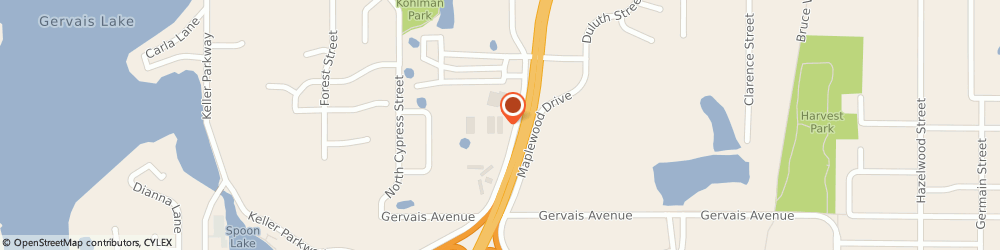 Route/map/directions to RE/MAX Maplewood, 55109 Maplewood, 2475 Maplewood Dr Ste 115