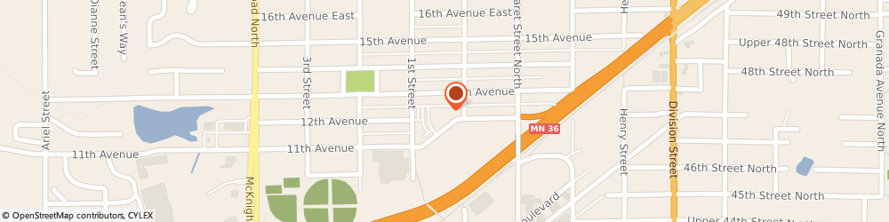 Route/map/directions to St Marks Preschool, 55109 Saint Paul, 2499 HELEN STREET NORTH