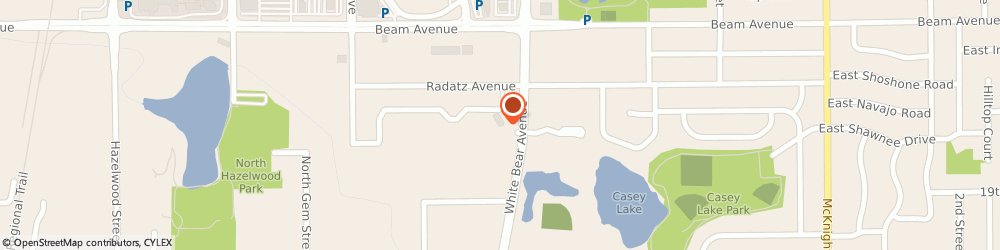 Route/map/directions to Maplewood Va Clinic, 55109 Maplewood, 2785 WHITE BEAR AVENUE, SUITE 210