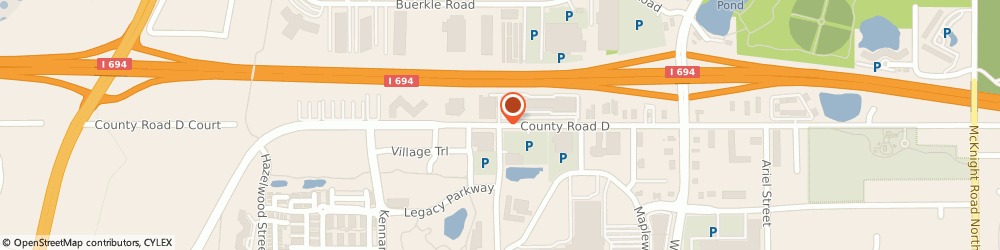 Route/map/directions to Best Buy, 55109 Maplewood, 1885 E COUNTY RD D