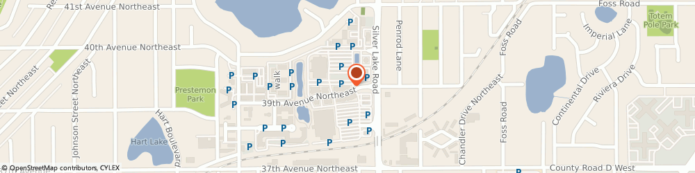 Route/map/directions to Caribou Coffee, 55421 Minneapolis, 2700 39th Avenue NE