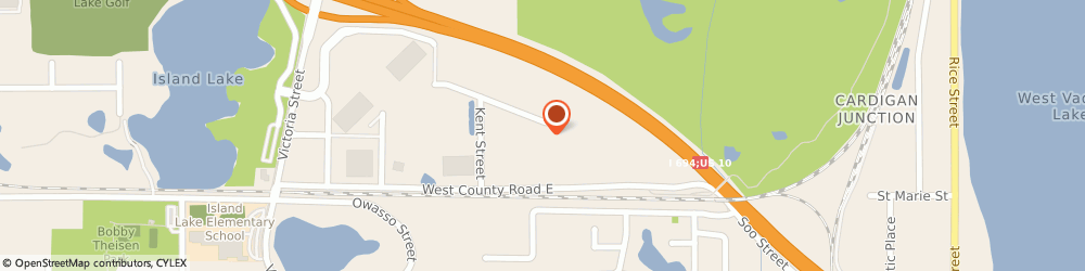 Route/map/directions to Griggs Contracting, 55126 Saint Paul, 530 Shoreview Park Rd