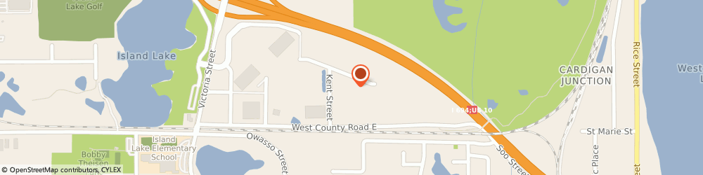 Route/map/directions to Prolift Services Incorporated, 55126 Saint Paul, 550 SHOREVIEW PARK ROAD