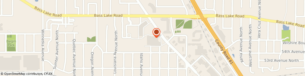 Route/map/directions to Starbucks, 55428 Minneapolis, 5537 W Broadway Ave