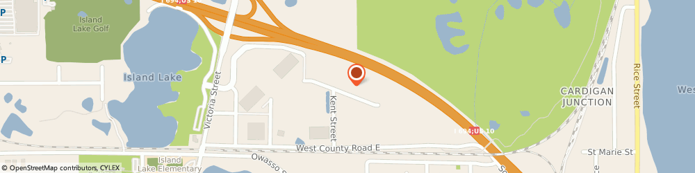 Route/map/directions to Rapid Tooling Technologies LLC, 55126 Saint Paul, 561 SHOREVIEW PARK ROAD