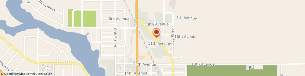 Route/map/directions to Safeco Insurance Agent, 54724-1424 Bloomer, 1009 Martin Rd