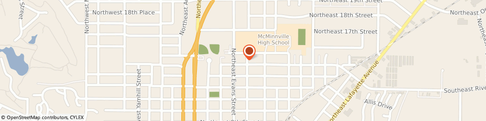 Route/map/directions to Church Of Jesus Christ Of Latter Day Saints, 97128 Mcminnville, 535 NORTHEAST 14TH STREET
