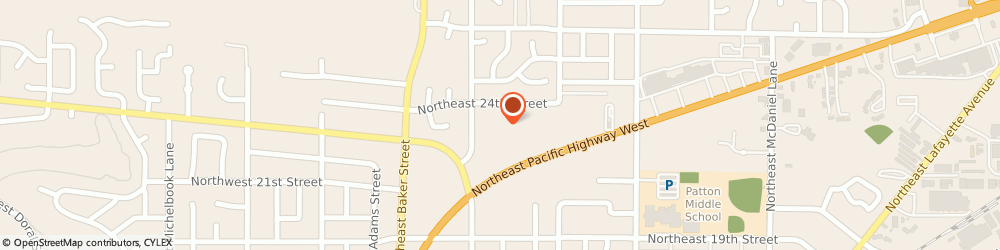 Route/map/directions to Rhoda Anne Apartments, 97128 Mcminnville, 2302 NE EVANS ST APT 1