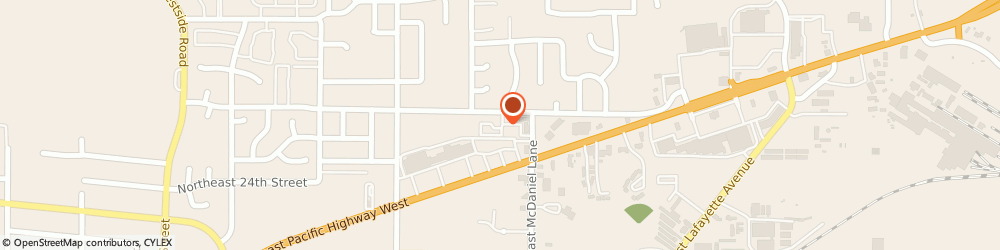 Route/map/directions to Towncenter, 97128 Mcminnville, 1500 NORTHEAST 27TH STREET APT 80