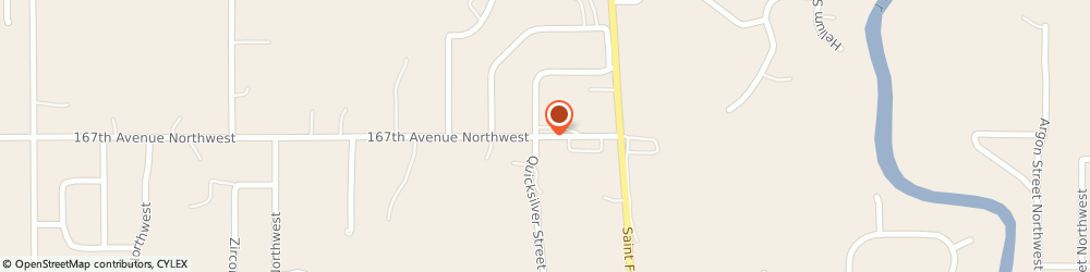Route/map/directions to Post Office - Ramsey, 55303 Anoka, 6001 167TH AVENUE NORTHWEST