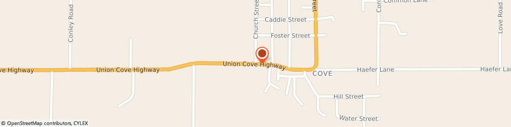 Route/map/directions to Seventh-Day Adventist Church COVE, 97824 Cove, Main Street