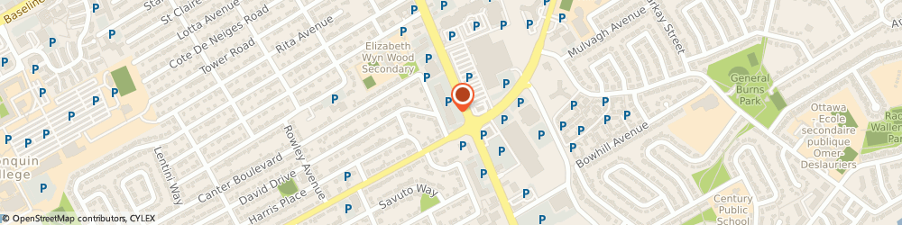 Route/map/directions to Matyas m Dr Ear Nose & Throat, K2G 4B5 Nepean, 1580 MERIVALE RD #501