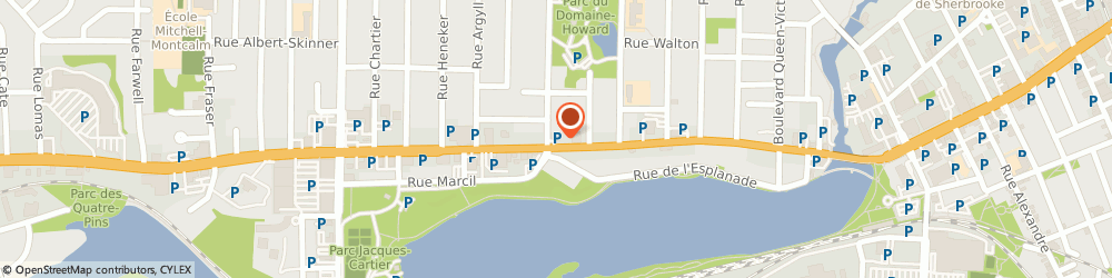Route/map/directions to Epicerie Fine Le Coin d Italie, J1J 2B8 Sherbrooke, 1381 Rue King O