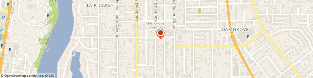 Route/map/directions to Lifetime Windows & Doors, 97267 Portland, 14710 SE Lee Ave