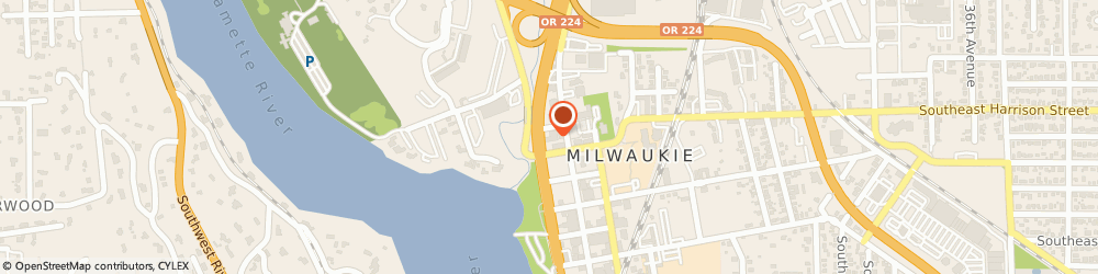 Route/map/directions to Nutrition and Diet Services, 97222 Milwaukie, 10600 SE McLoughlin Blvd #201