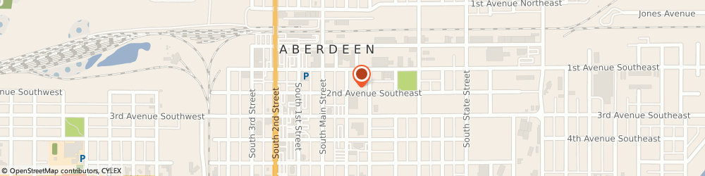 Route/map/directions to Aberdeen City Mayors Office, 57401 Aberdeen, 123 S LINCOLN ST