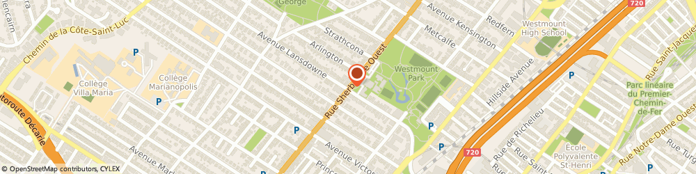 Route/map/directions to Smile Montreal, H3Z 1G2 Westmount, 4695 Rue Sherbrooke O