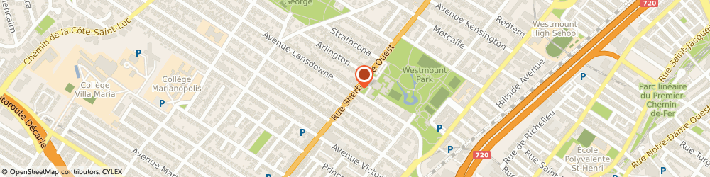 Route/map/directions to Patrick Casey, D.D.S., H3Z 1G2 Westmount, 4695 Rue Sherbrooke O