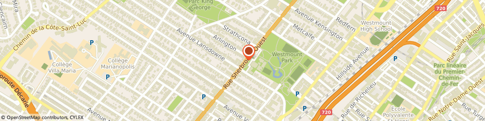 Route/map/directions to Centre Orthodontique Westmount, H3Z 1G2 Westmount, 4637 RUE SHERBROOKE O