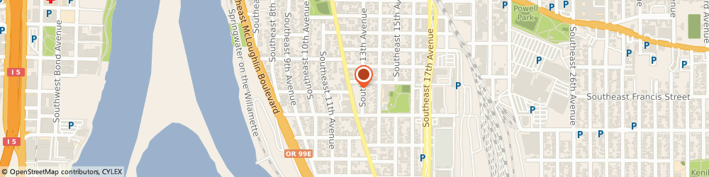 Route/map/directions to Columbia Empire Meat Co, 97202 Portland, 3820 Se Milwaukie Ave