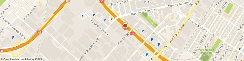 Route/map/directions to Syntax, H4P 2S4 Montréal, 8000 Decarie Boulevard, Suite 300