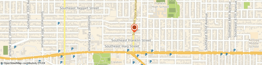 Route/map/directions to Ruthies Weaving Studio, 97206 Portland, 3131 SOUTHEAST 50TH AVENUE