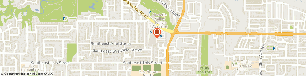 Route/map/directions to Albertsons, 97123 Hillsboro, 7500 SW Baseline Rd
