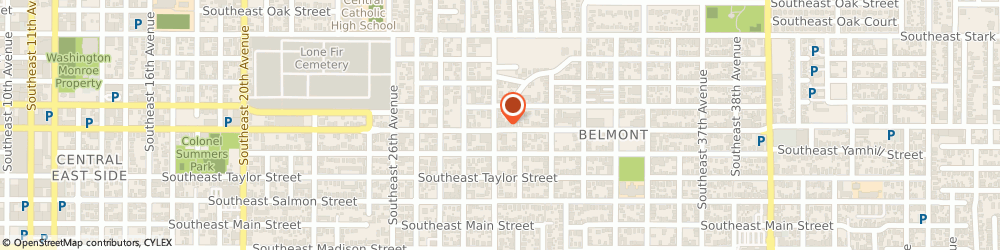 Route/map/directions to Natural Choices Health Clinic, 97214 Portland, 3007 Se Belmont Street