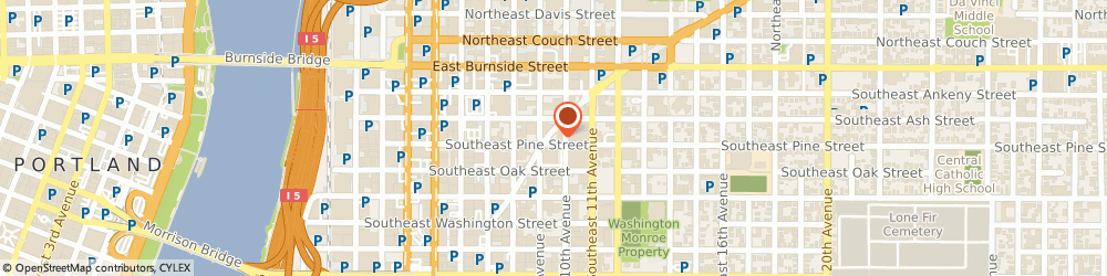 Route/map/directions to Precision Images, 97214 Portland, 900 Southeast Sandy Boulevard