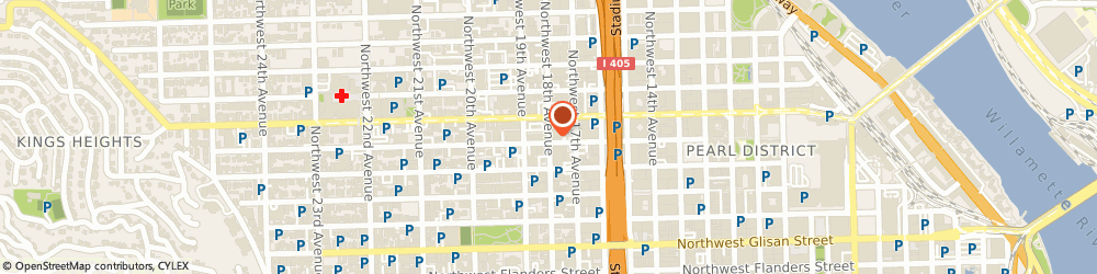 Route/map/directions to Portland Ear Testing Center, 97209 Portland, 921 NORTHWEST 18TH AVENUE