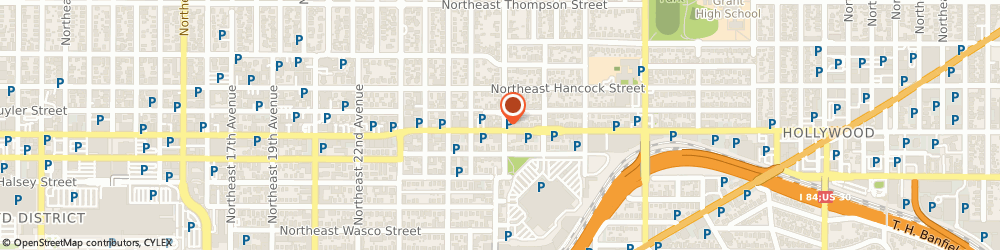 Route/map/directions to Pour Wine Bar Bistro, 97232 Portland, 2755 NE BROADWAY ST