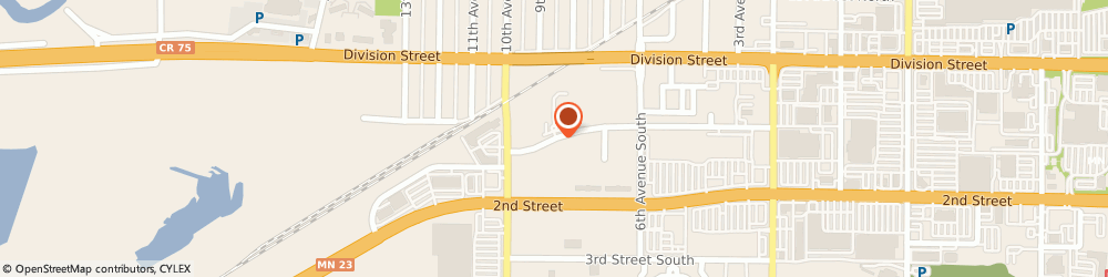 Route/map/directions to Ecowater Systems, 56387 Waite Park, 906 1St Street South