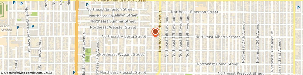 Route/map/directions to Tin Shed & Garden Cafe, 97211 Portland, 1438 NORTHEAST ALBERTA STREET