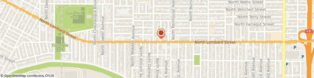 Route/map/directions to Arby's, 97217 Portland, 3171 North Lombard Street