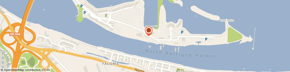 Route/map/directions to Mccuddys Marina, 97217 Portland, 250 NORTHEAST TOMAHAWK ISLAND DRIVE