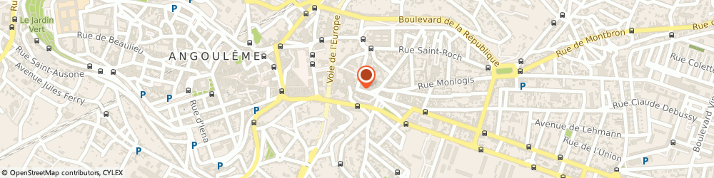 Mutuelle 403 angoul me 16 rue de p rigueux 05 45 20 51 for Angouleme code postal