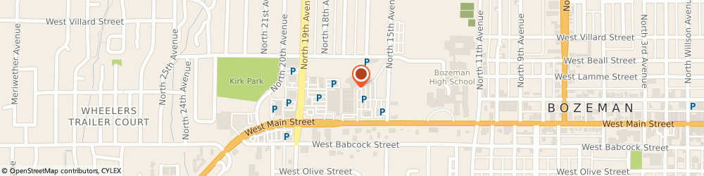 Route/map/directions to Ruff Rollin', 59715 Bozeman, 1627 W Main St #295